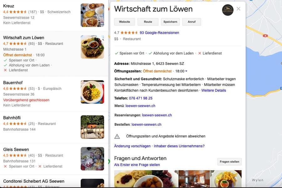 Google My Business gehört zu den Google Tools für lokale Unternehmen