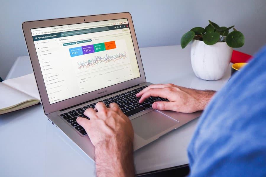 Analyse über die Google Search Console
